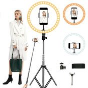 Selfie Stick / LED Ring Stand Tripod Mount Holder