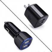 Wall and Car Charger Adapter