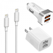 iPhone Lightning Chargers (Wall / Car)