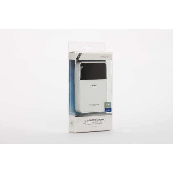 Wholesale LCD Power station (white) II Version 10000mAh