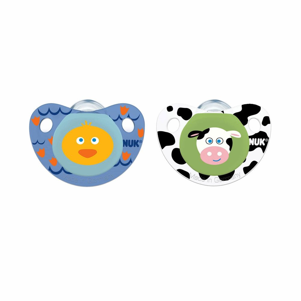 Wholesale Nuk 174 Cute As A Button Pacifier Farm Animals
