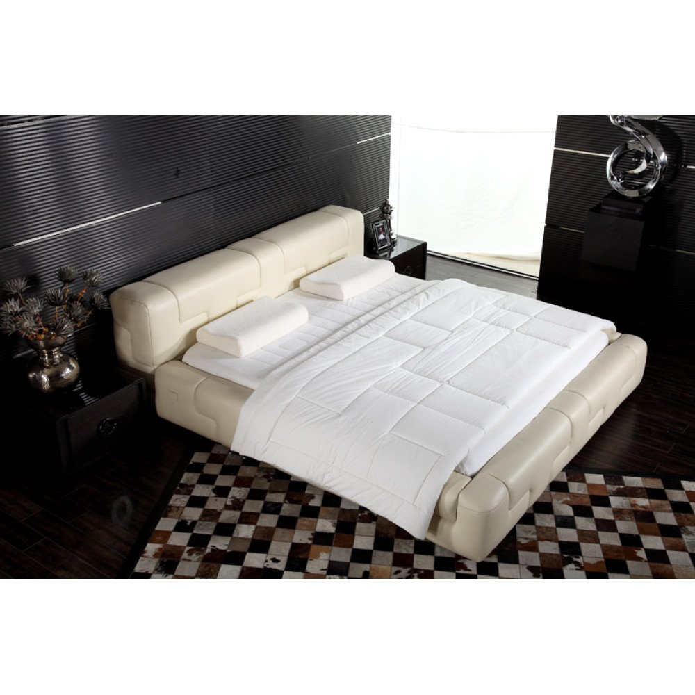 Wholesale DeRucci Bed Frame QB029 (Beige)
