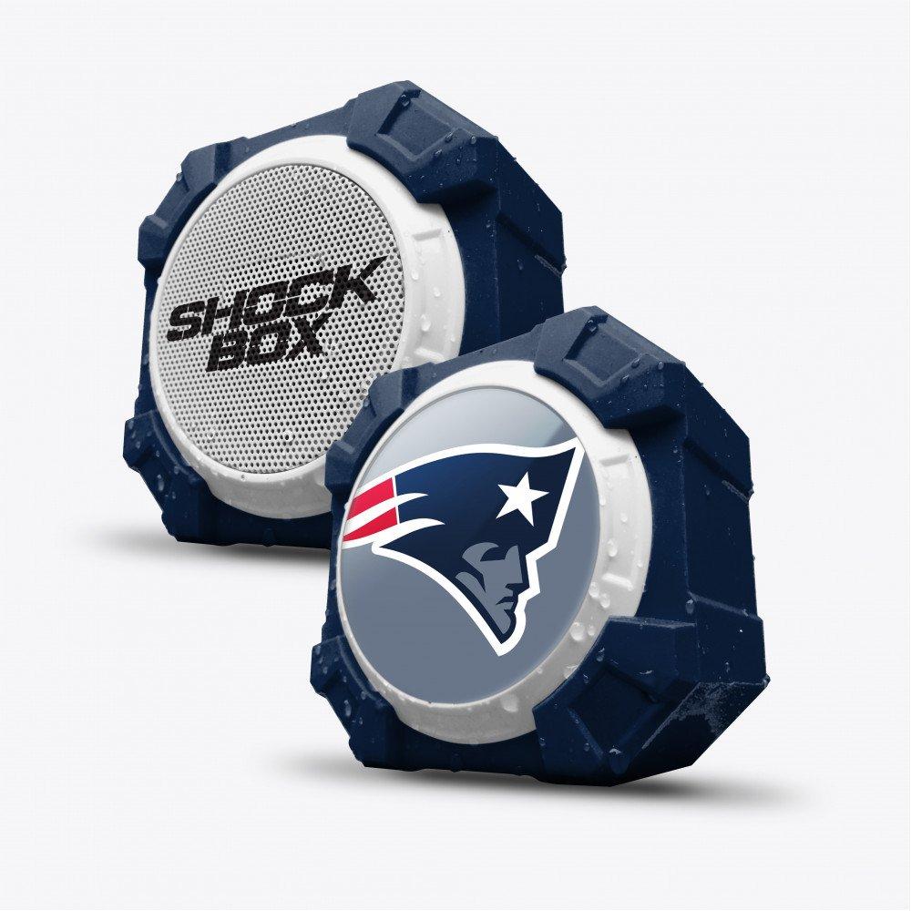 Wholesale Mizco Bluetooth Speaker New England Patriots Blue