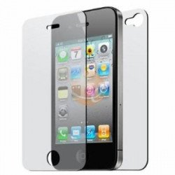 Front & Back Clear Screen Protector for iPhone 4S / 4