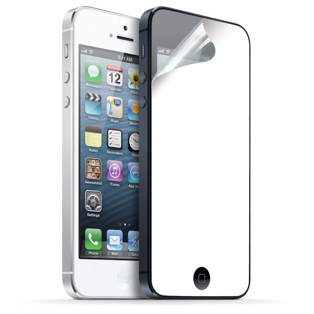 Wholesale mirror screen protector for iphone 5 5c 5s for Phone mirror