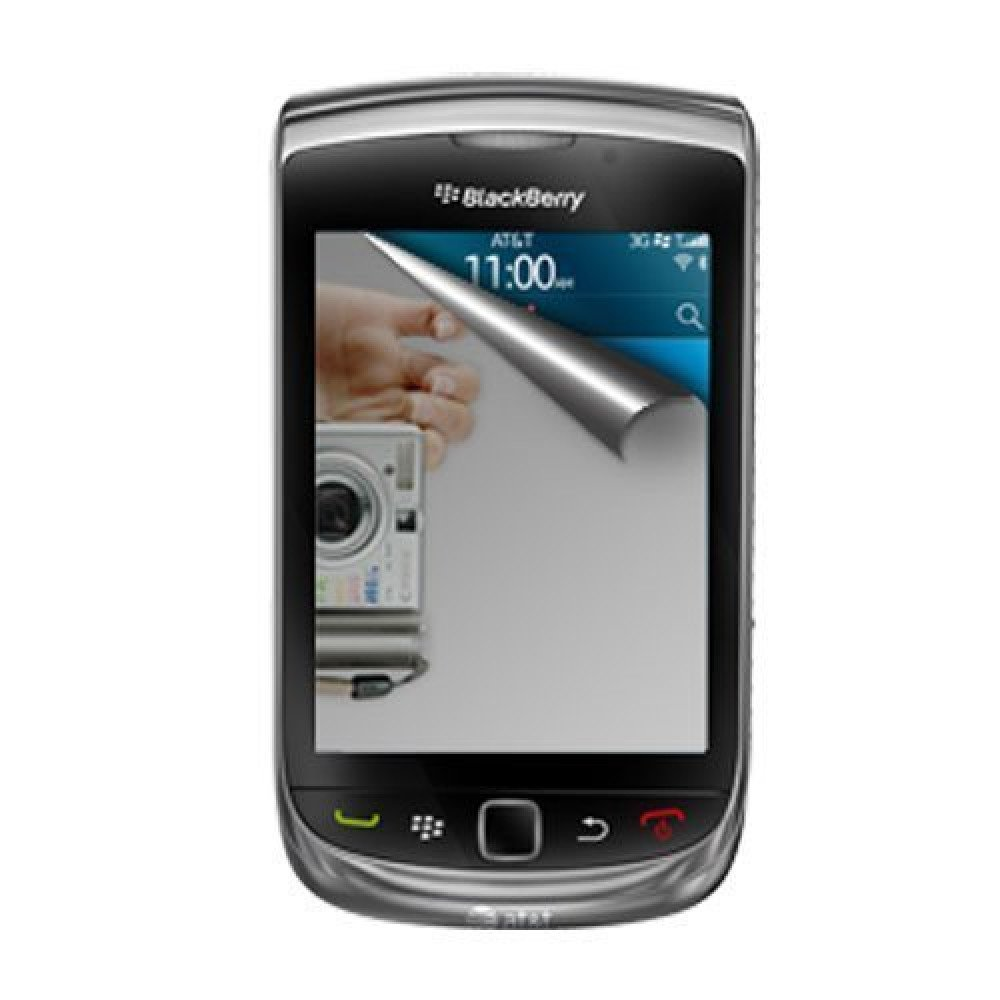 Wholesale mirror screen protector for blackberry torch 9800 for Mirror screen