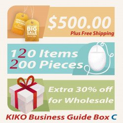 KIKO Business Guide BOX + Free Shipping (Total 120 items 200 pc)