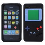 Wholesale iPhone 4 4S 3D Gameboy Case (Black)