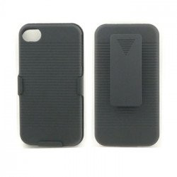 Holster Combo Case for iPhone 4S / 4 (Black)