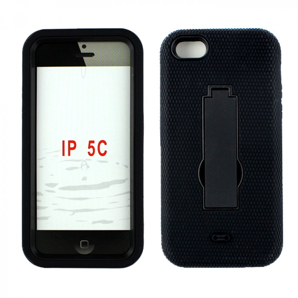 cheap iphone 5c cases iphone 5c armor hybrid with stand black 13790