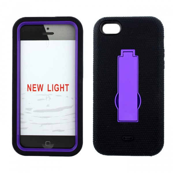 purple iphone 5c iphone 5c armor hybrid with stand black 12820