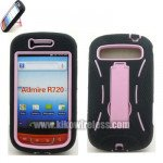 Wholesale Armor Hybrid Case for Samsung Admire R720 (PinkBlack)