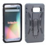 Samsung Galaxy Note 5 Armor Hybrid Stand Case (Black)