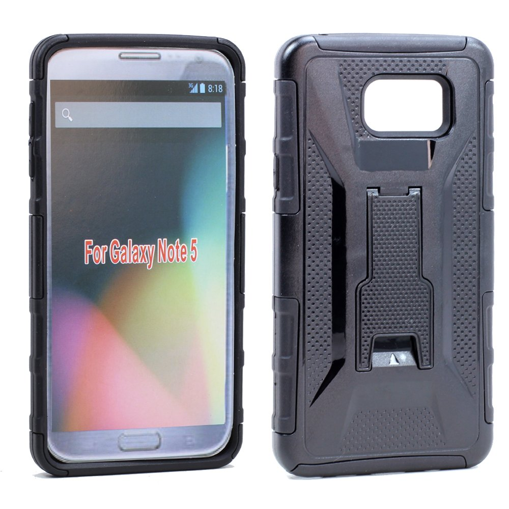 promo code 9f87e 89c28 Wholesale Samsung Galaxy Note 5 Holster Combo Belt Clip Case (Black)