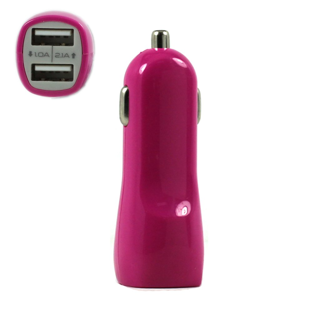 Wholesale 2 Usb Output Cell Phone Car Adapter Charger Hot