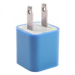 Cell Phone House Power Adapter (Blue)