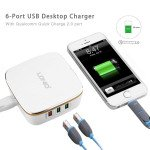 Wholesale Quick Charge 2.0 USB Charger 35W / 7A 6 USB Port Desktop Charging Station