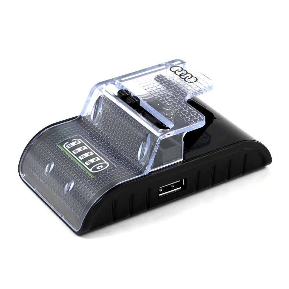 wholesale smart usb universal battery charger curve black. Black Bedroom Furniture Sets. Home Design Ideas