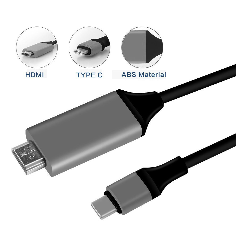 wholesale type c usb to hdmi cable hd tv cable for. Black Bedroom Furniture Sets. Home Design Ideas