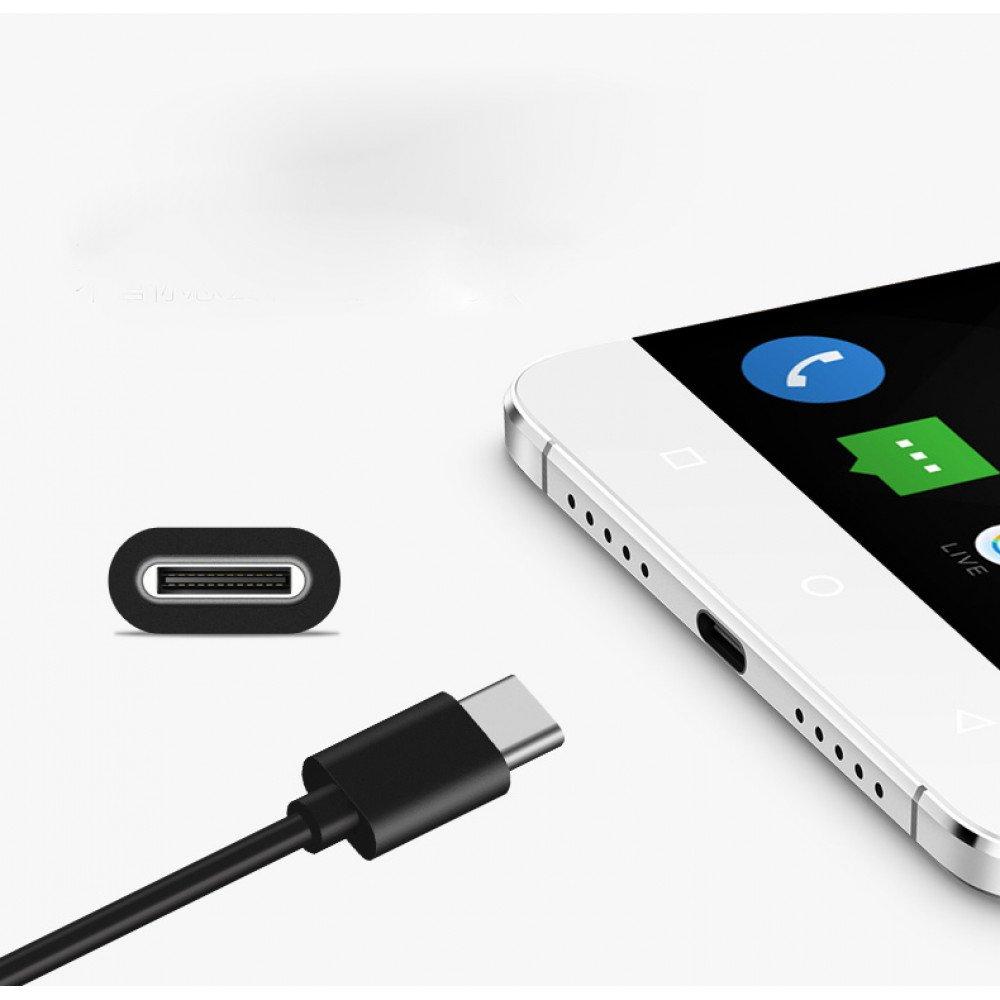 Wholesale Type C 2A USB Cable 3 FT (Black)