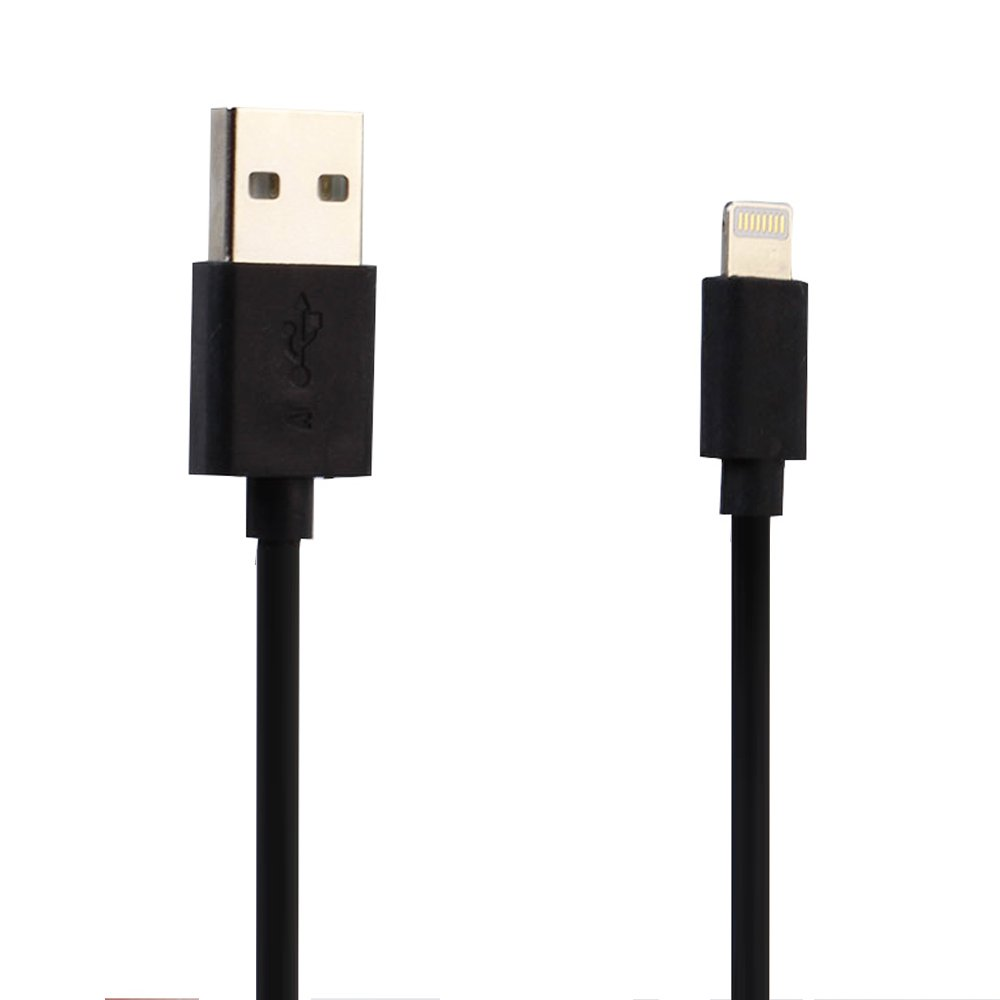50 ft iphone charger ios lightning 2a usb heavy duty cable 6 ft black 13347