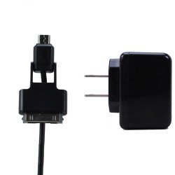 iPhone & Micro USB V8V9 2 in 1 Power House Charger