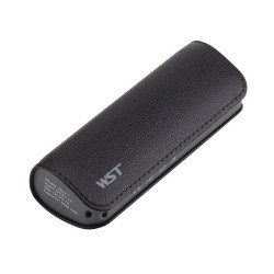 2600 mAh Ultra Compact Portable Charger External Battery Power Bank (Black)