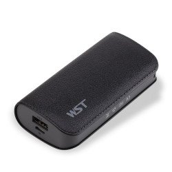 5200 mAh Ultra Compact Portable Charger External Battery Power Bank (Black)