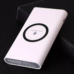 Wholesale 2 in 1 Wireless Charging & Power Bank External Battery Pack J17 (White)