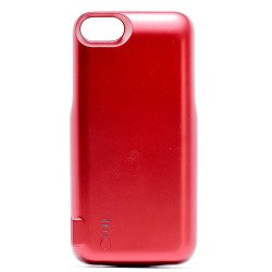 iPhone 8 / 7 / 6s / 6 Dual Portable Power Charging Cover 5000 mAh (Red)