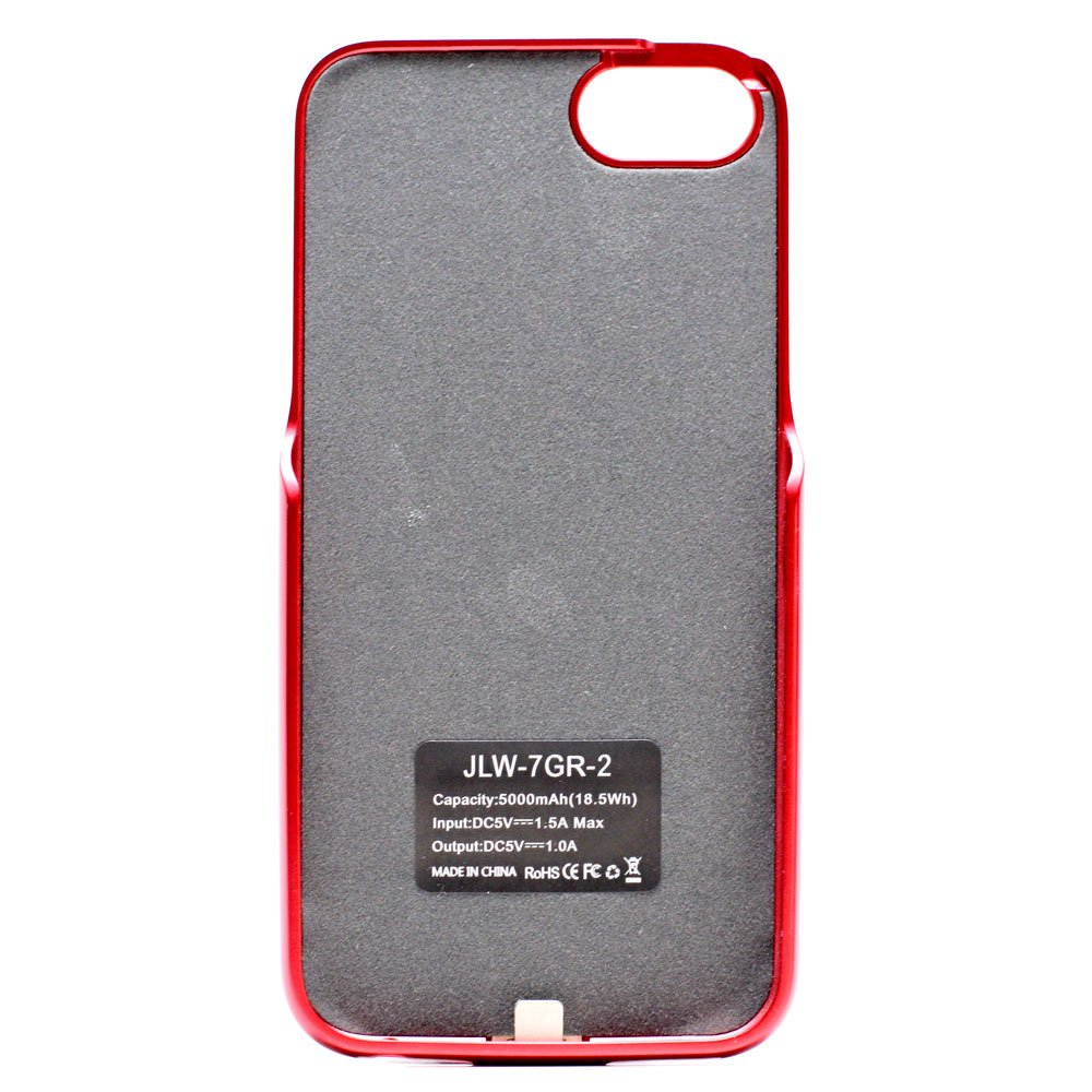 iphone 7 plus charging case red