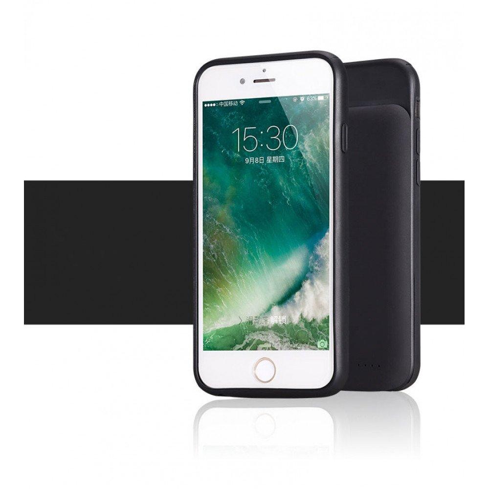 wholesale iphone 8 plus 7 plus 6s plus 6 plus portable power charging tpu full case 5000. Black Bedroom Furniture Sets. Home Design Ideas