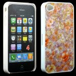 Wholesale iPhone 4 4S Orange Blossom Design Case