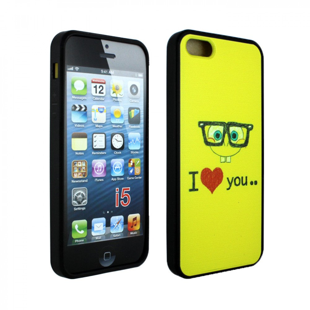 cheap iphone 5s apple iphone 5 5s design sponge i you 10369