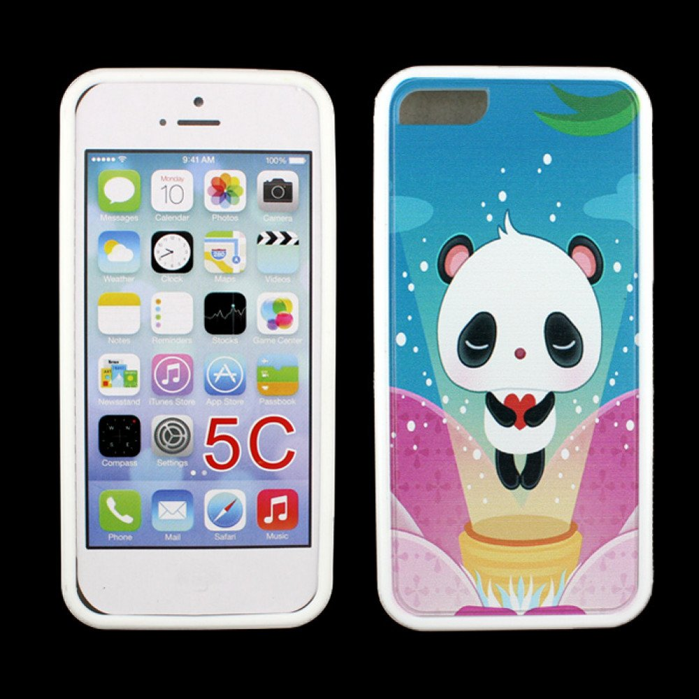 cheap iphone 5c iphone 5c gummy design panda 10368