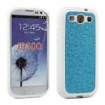 Wholesale Glitter Design Case for Samsung Galaxy S3 (Blue)