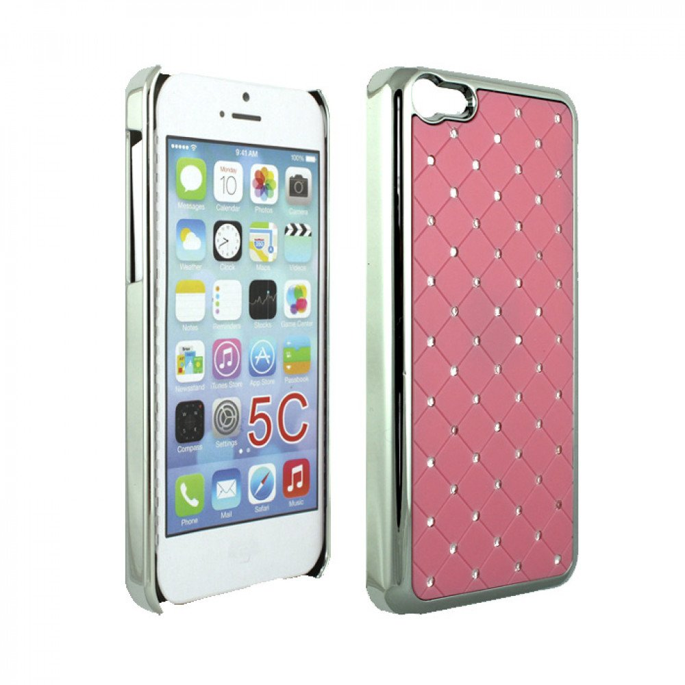 cheap iphone 5c cases iphone 5c chrome pink 13790
