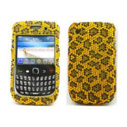 BlackBerry 8520 9300 Diamond Case (Leopard)