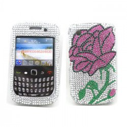 BlackBerry 8520 9300 Diamond Case (Rose)