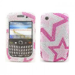 BlackBerry 8520 9300 Diamond Case (Star)