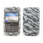 Wholesale BlackBerry 8520 9300 Diamond Case (Zebra)