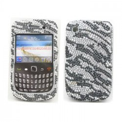 BlackBerry 8520 9300 Diamond Case (Zebra)