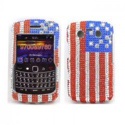 Diamond Flag case for BlackBerry 9700