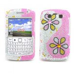 Wholesale Diamond Flower case for BlackBerry 9700