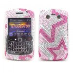Wholesale Diamond Star case for BlackBerry 9700
