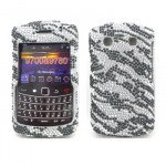 Wholesale Diamond Zebra case for BlackBerry 9700