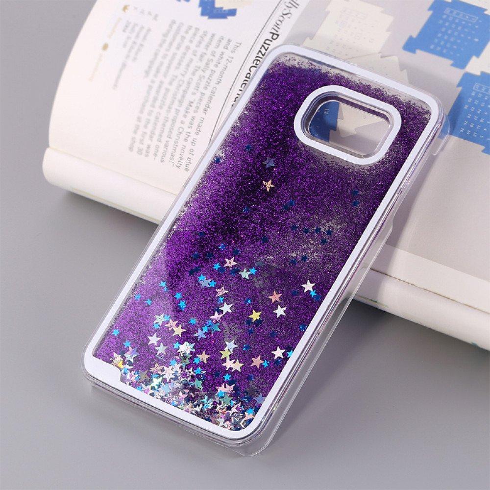 first rate a0cf4 89dda Wholesale Galaxy S7 Glitter Shake Shake Star Dust Case (Purple)