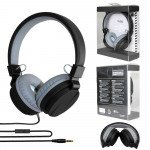 Sound Style Stereo Headphone with Mic TV05B (Black)