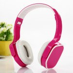 High Quality Stereo Headphone with Mic TV09 (Hot Pink)