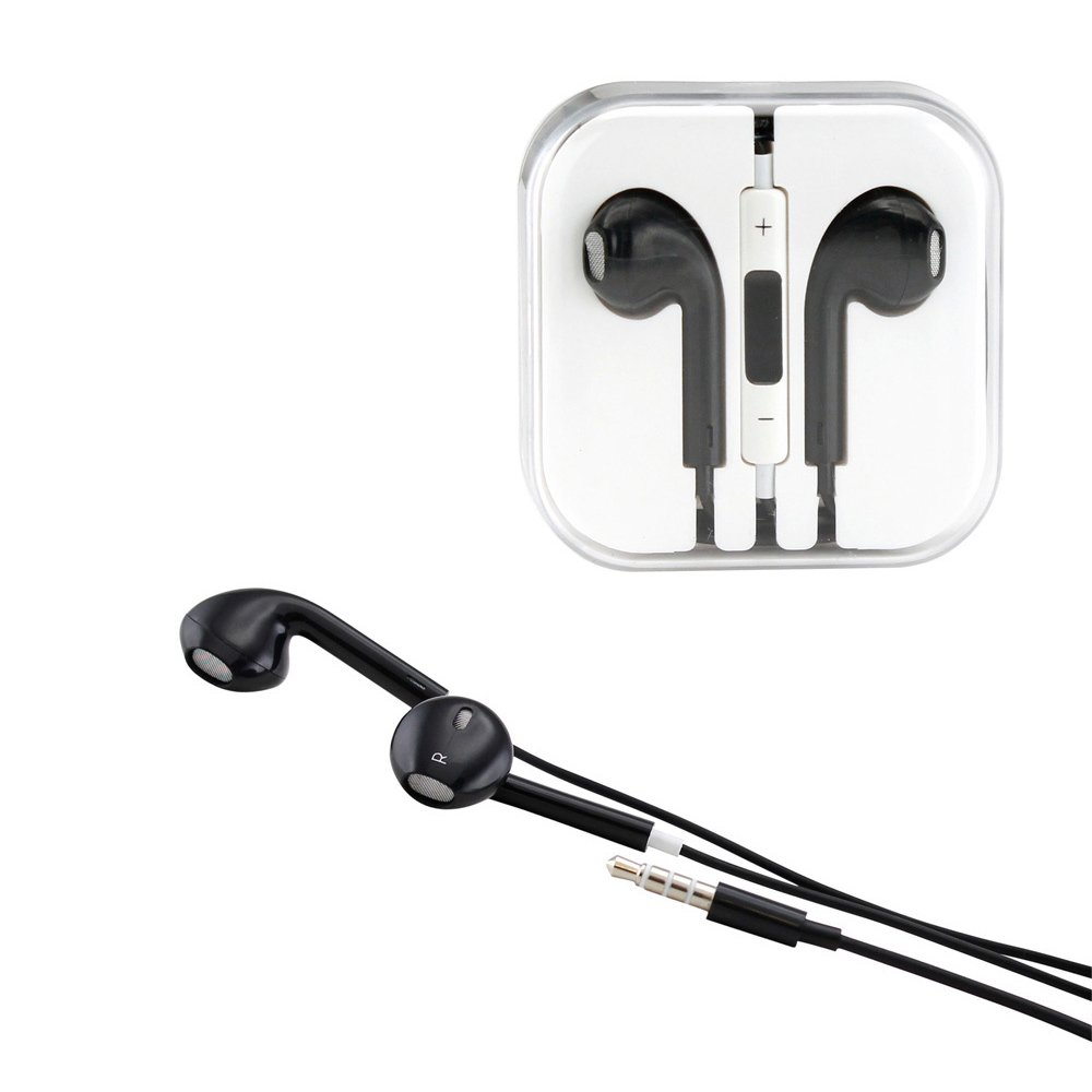 iphone headphone controls iphone 5s style stereo earphone headset with mic 11915
